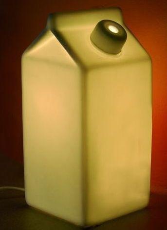 lampe brique de lait